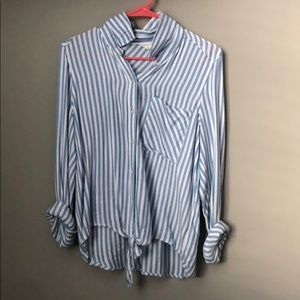 Aeropostale striped blouse